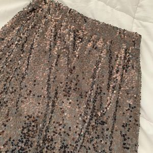 NEW Sequin Maxi Skirt